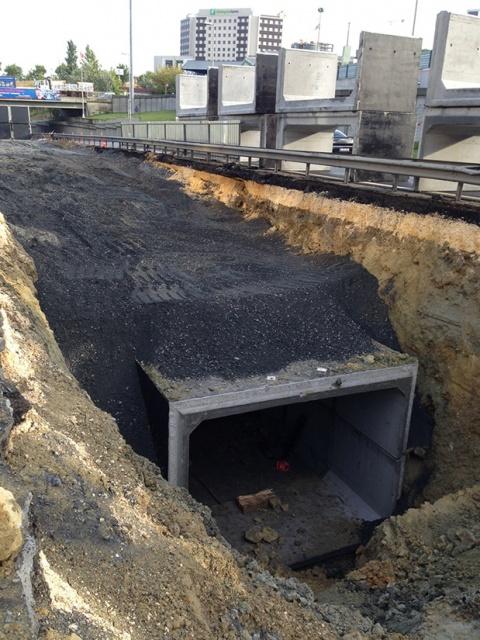 Avrupa  1. Bölge 2011 Yılı 3. Kısım Atıksu Ve Yağmursuyu Kanal İnşaatı