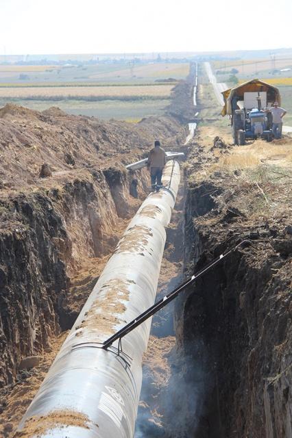 Edirne (Kayalıköy barajı) İçme Suyu İsale Hattı İnşaatı