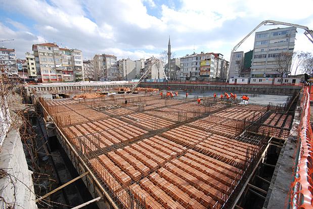 Fatih Belediye Hizmet Binası ve Kat Otoparkı ile Şehir Tiyatrosu İnşaatı