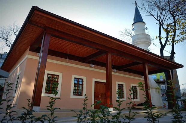 Fatih Fındıkzade Kasap Halil Camii Restorasyonu İnşaatı