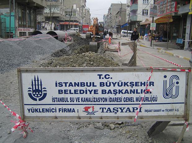 İstanbul Bölgesi IV. Kısım Müteferrik İçmesuyu Şebeke ve Kat Ayrımı İnşaatı