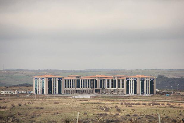 Kırklareli Üniversitesi Rektörlük Binası İnşaatı İşi