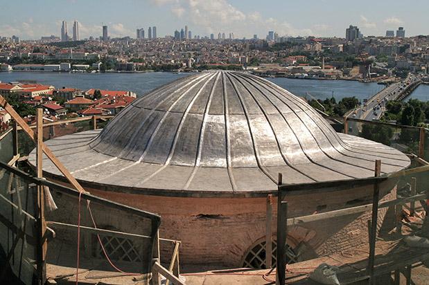 Molla Zeyrek Camii Restorasyonu İnşaatı