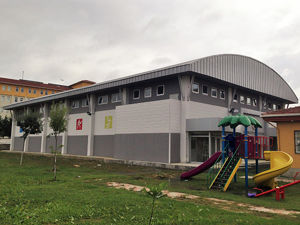 Prefabrik Kapalı Spor Salonları Yapımı İşi
