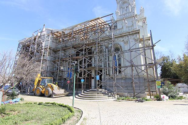Sveti Stefan Kilisesi Restorasyonu İnşaatı