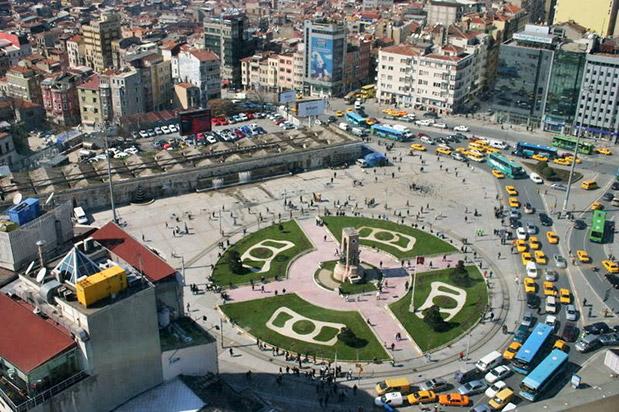 Taksim Cumhuriyet Anıtının Çevre Düzenlemesi Restorasyonu